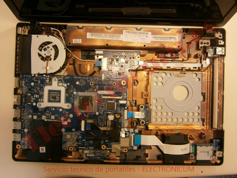 Reparar Lenovo G580