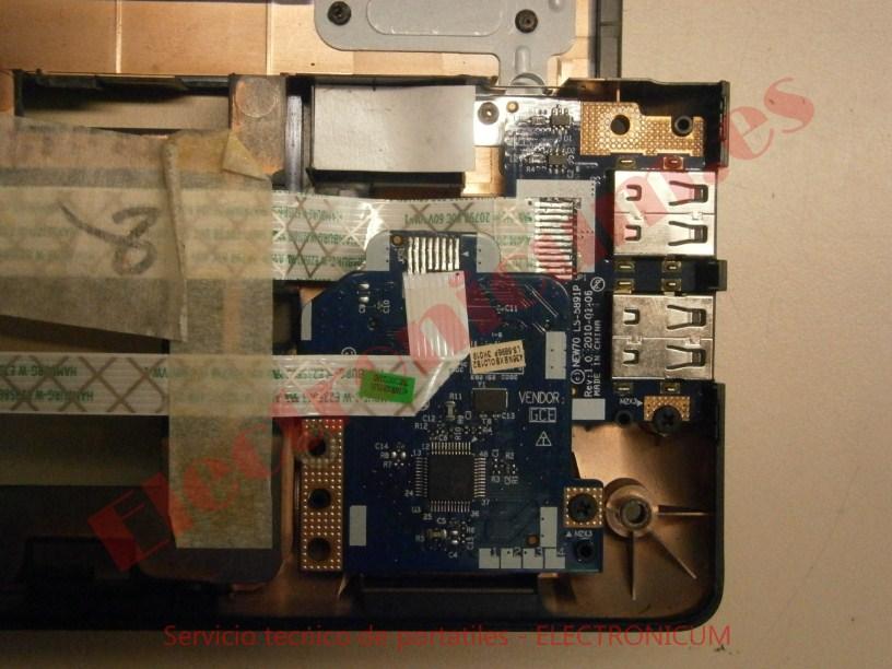 cambiar placa usb Acer  Aspire 5741G