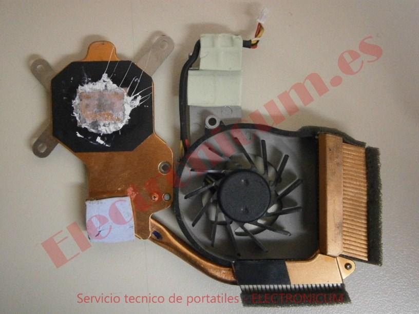 cambiar ventilador HP TX2500