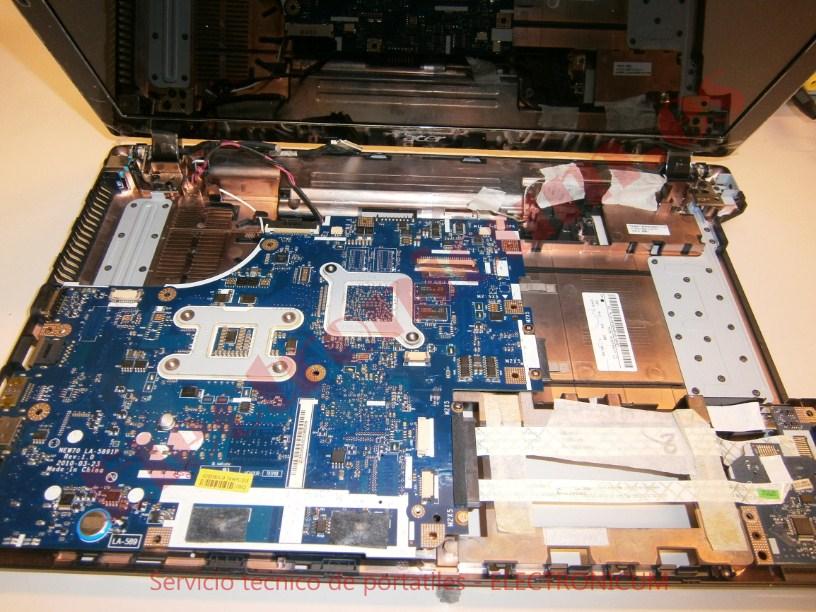 desmontar Acer Aspire 5741G