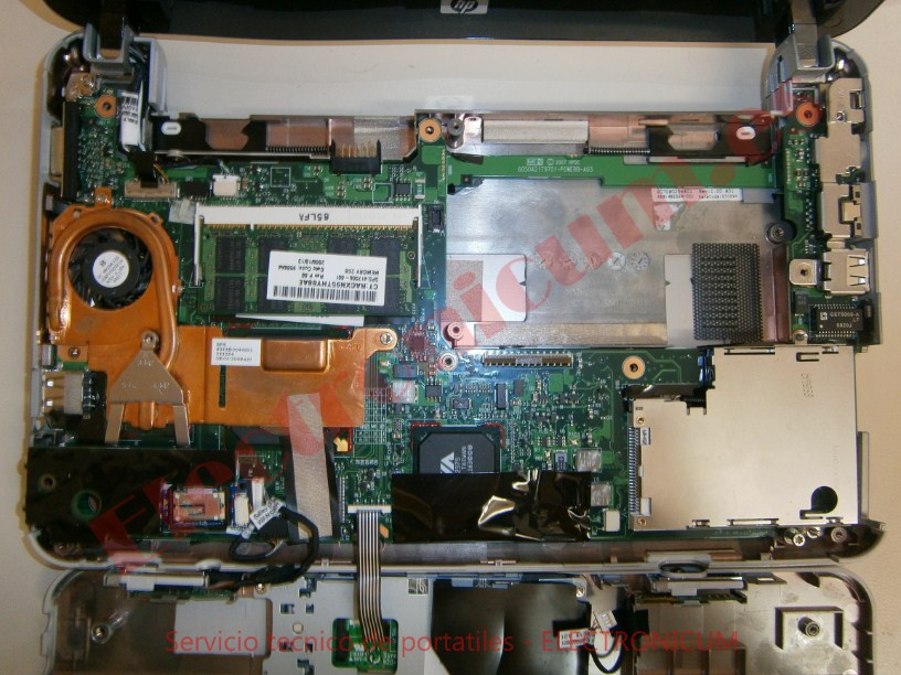 placa base HP mini 2133