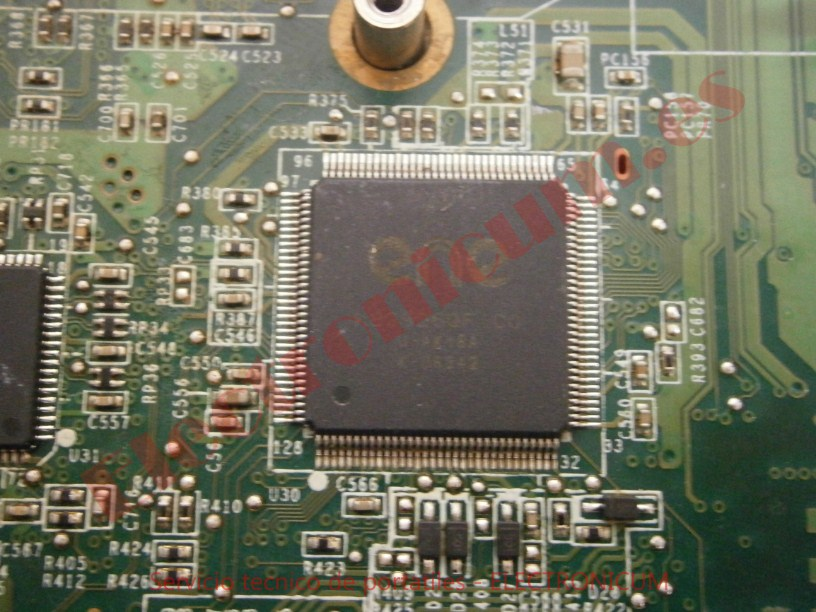 reparar KBC ENE HP TX2500