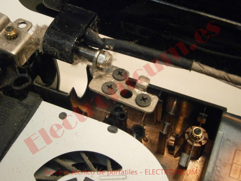 reparar bisagra Lenovo G580