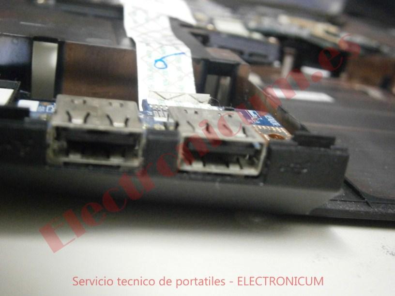 reparar conector Packard Bell PEW91