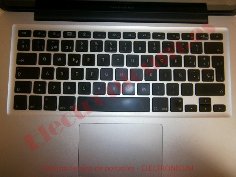 cambiar teclado Macbook Pro A1278