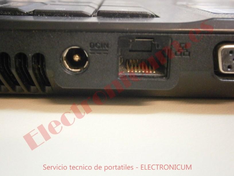 conector dc jack Asus X54H
