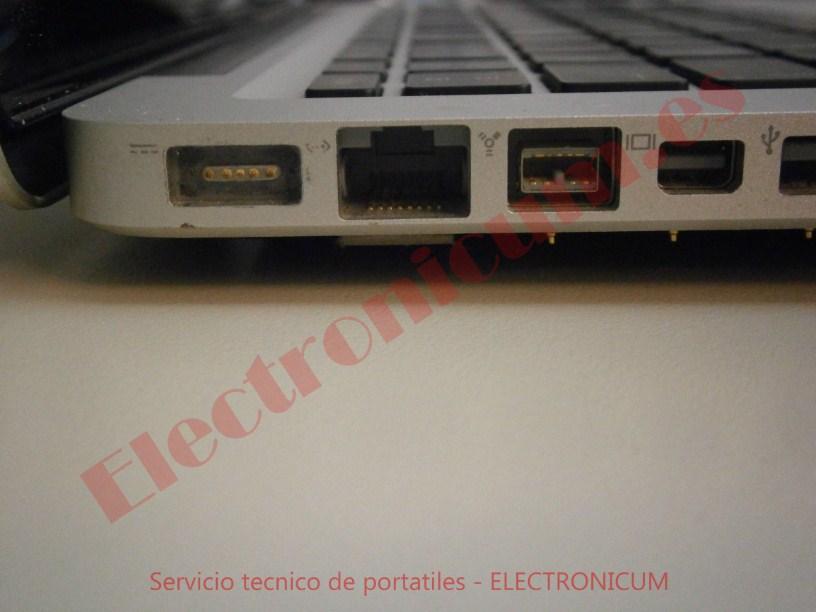 conector usb Macbook Pro A1278