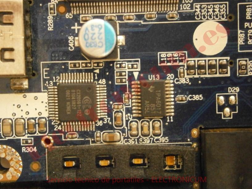 cortocircuito Compaq C700