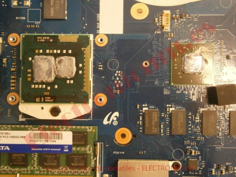 cpu micro Samsung R540