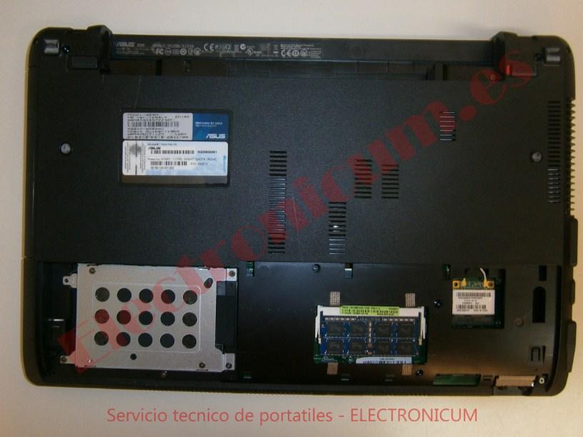 desmontar Asus X54H