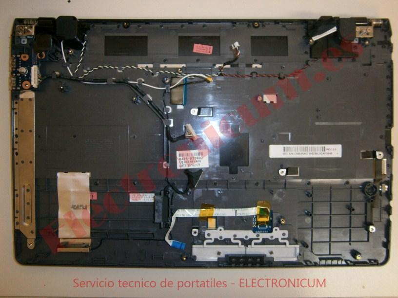 desmontar Samsung 300E