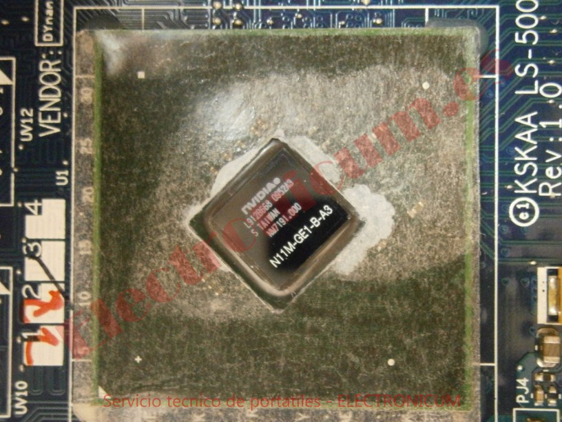 grafica gpu nvidia Toshiba Satellite A500