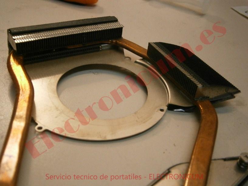 limpieza ventilador y disipador Samsung R540