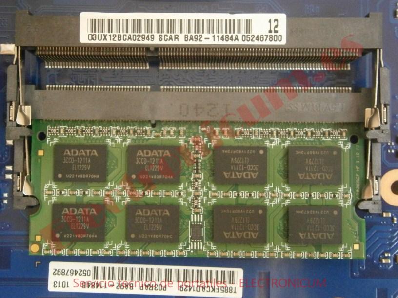 memoria Samsung 300E