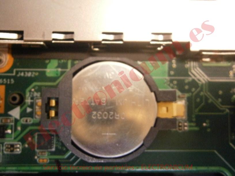 pila 3V Asus N61J