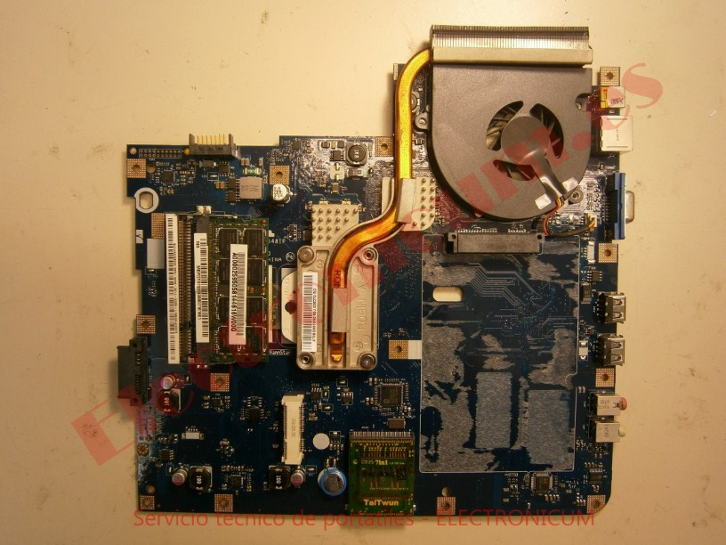 placa base Acer Aspire 5532