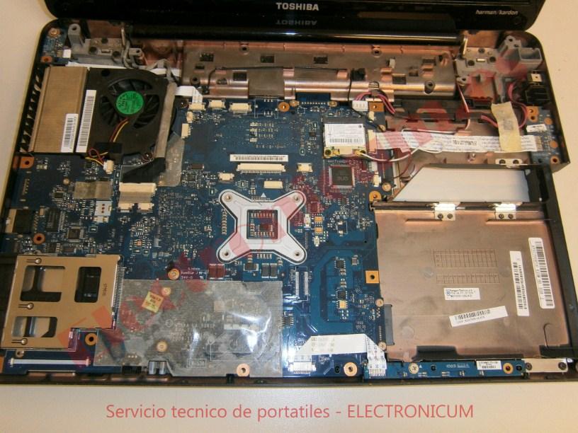placa base Toshiba Satellite A500