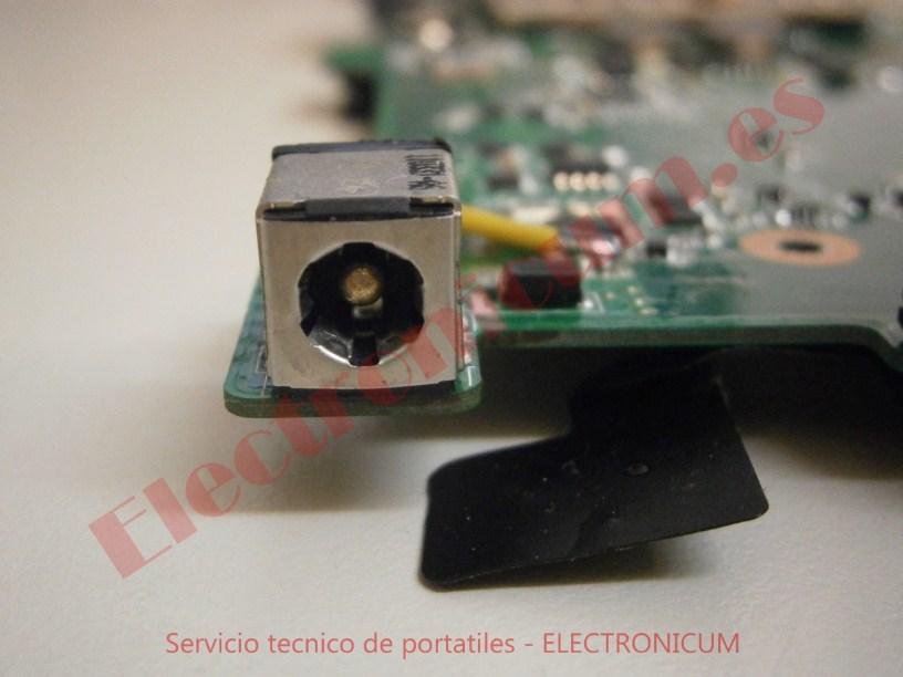 reparar dc jack Asus N73S