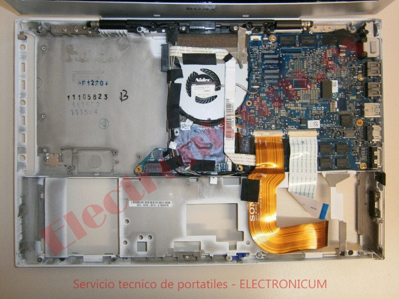 reparar placa base  Sony Vaio PCG-4121GM