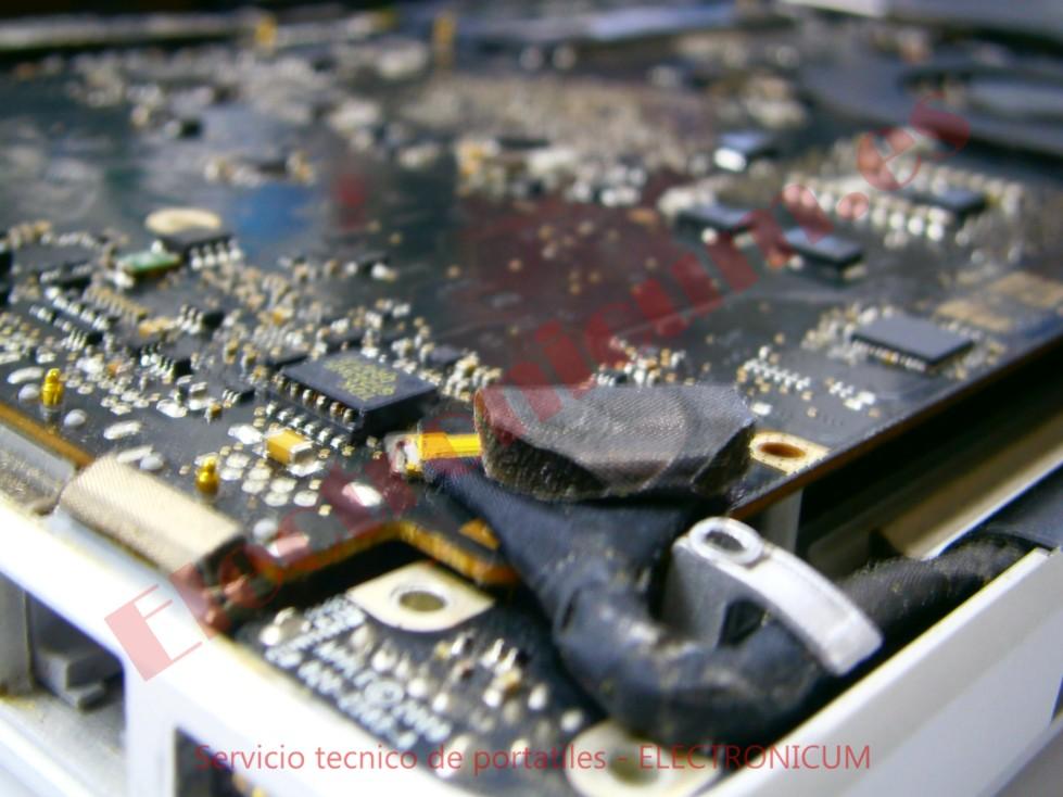 Arreglar macbook pro mojado valencia