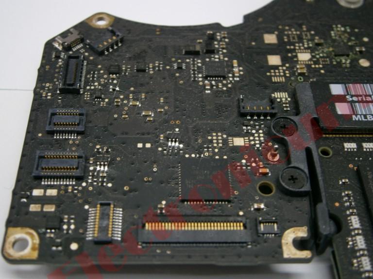 donde reparar placa base macbook pro mojado