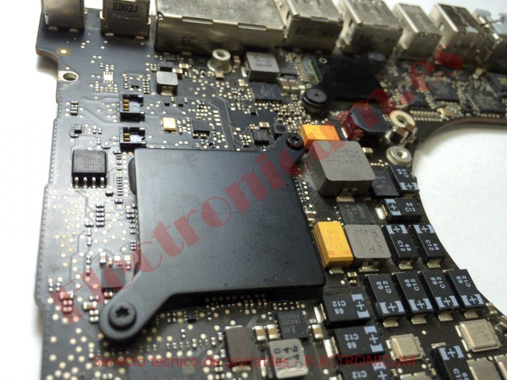 placa base macbook pro