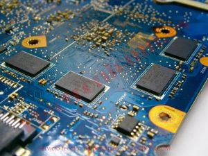 placa base Toshiba L855