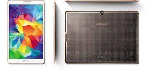 Algunas Galaxy Tab S presentan problemas en su cubierta.