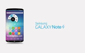 Samsung Galaxy Note 4 será lanzada el 3 de septiembre e inmediatamente estará disponible al público.