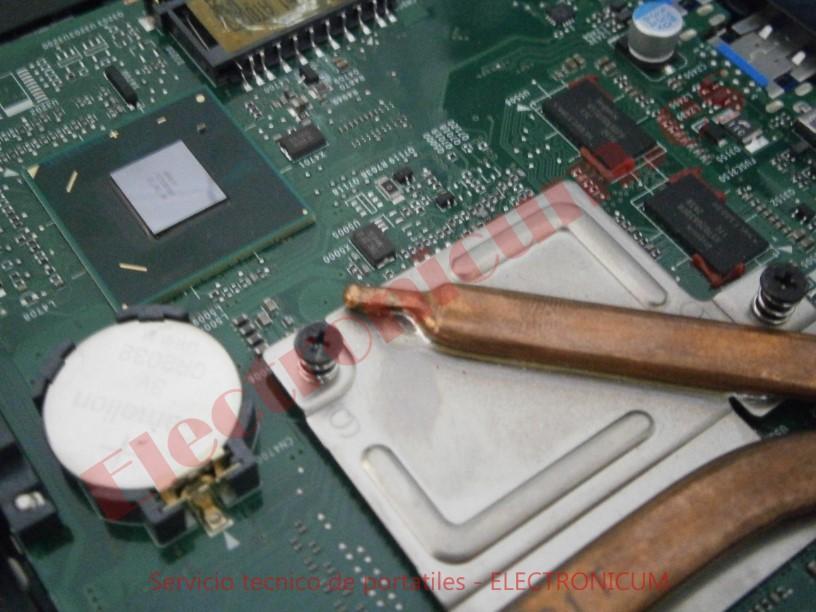 reballing GPU Toshiba