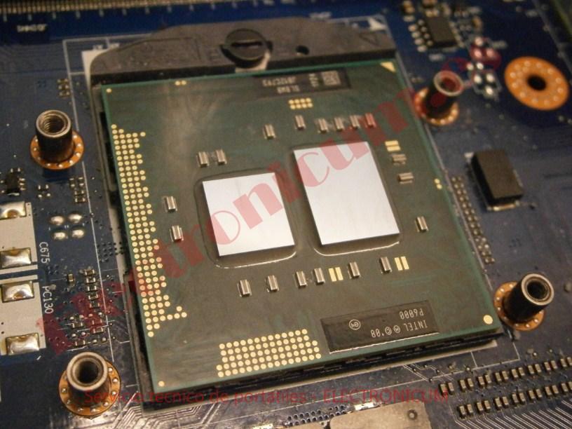 CPU micro packrd bell TM86
