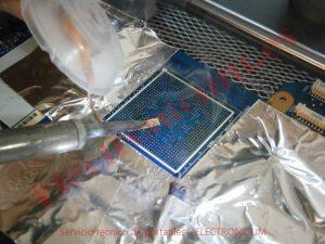 limpiar placa base para reballing