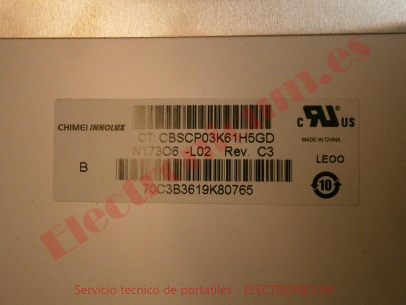 referencia pantalla HP DV7