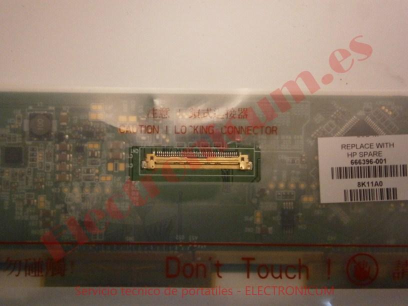 conector pantalla HP DV7