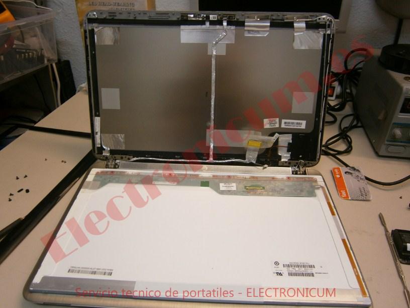 montar pantalla HP VD7