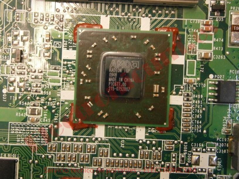Puente norte AMD HP DV6