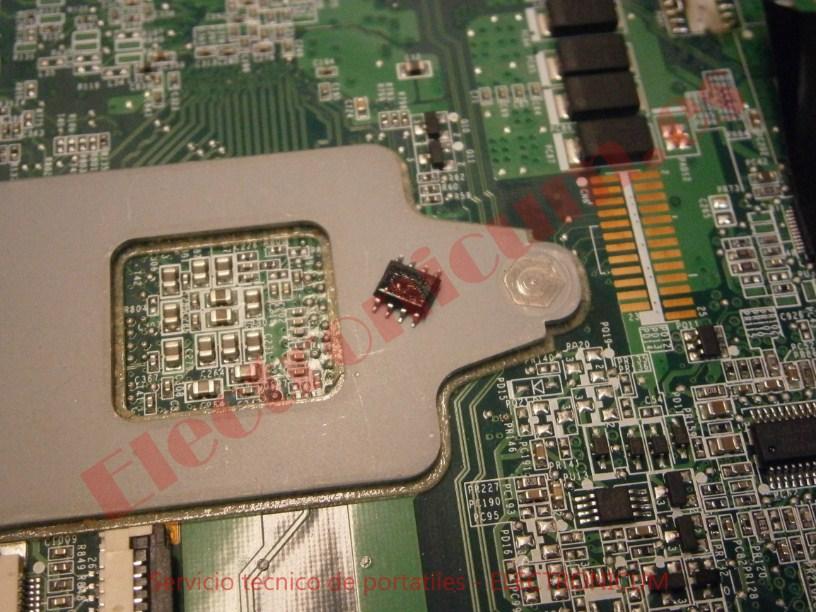 cambiar mosfet HP DV6
