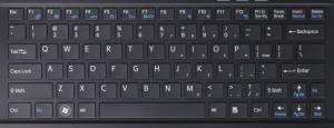 cambiar teclado