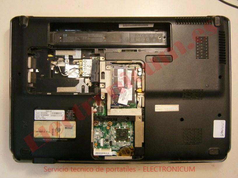 carcasa HP DV6-2145