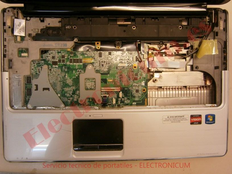 desmontar HP DV6-2145