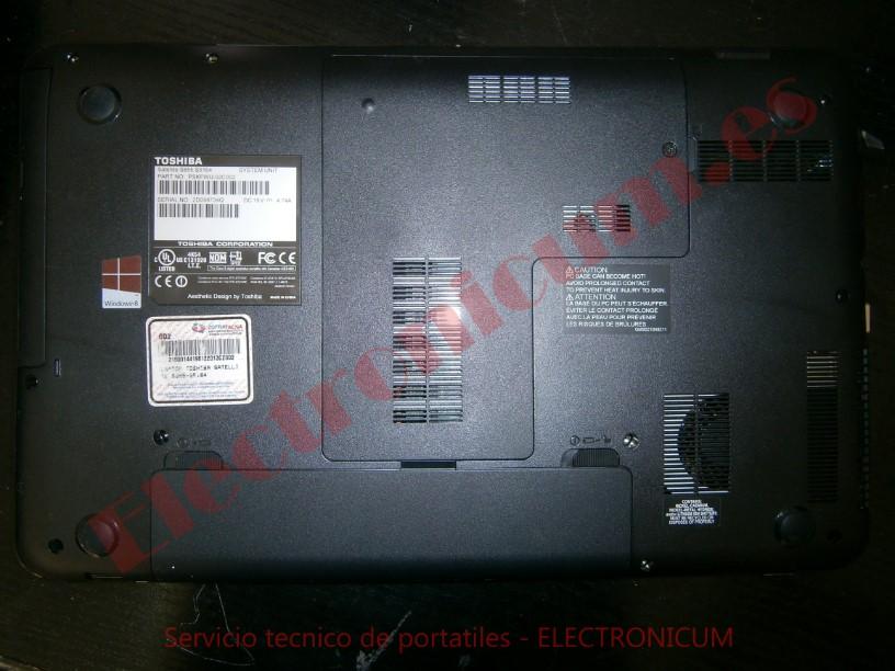 desmontar Toshiba S855