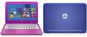 Los HP Stream están disponibles en colores vibrantes.