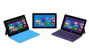 Renovación en la familia Surface de Microsoft.