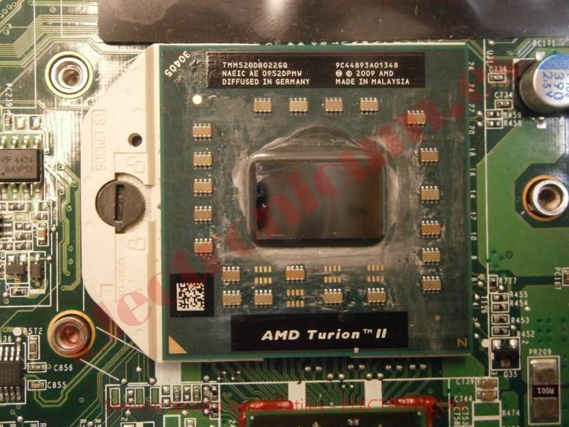 microprocesador AMD HP DV6-2145