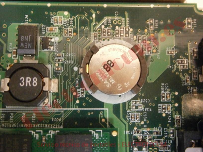 reparar pila Acer Aspire One ZG5