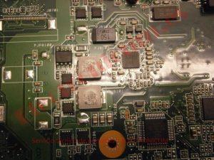 reparar placa base asus a53e