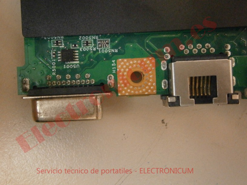 salida VGA Lenovo