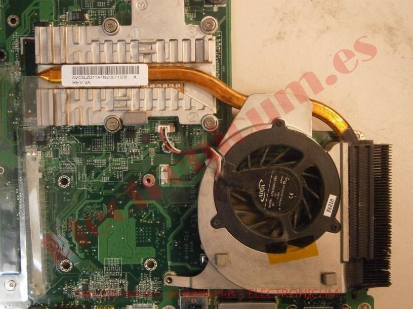 Limpieza ventilador Acer Aspire