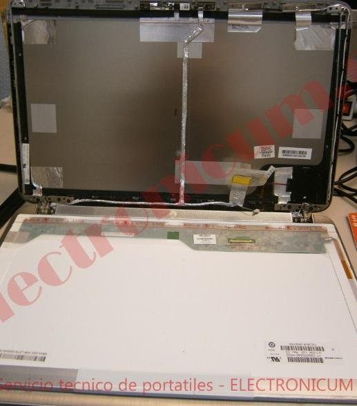 cambiar pantalla HP Pavilion DV7 TPN-W105