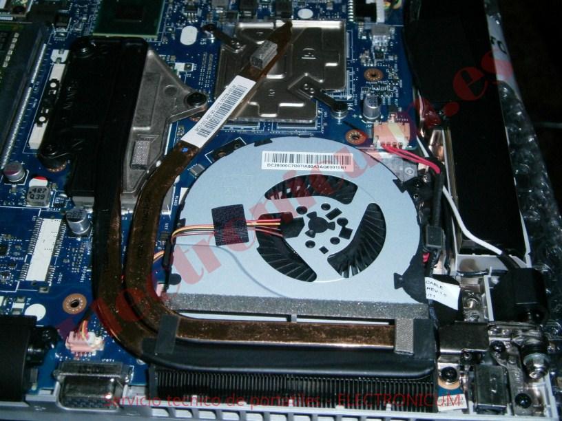 cambiar ventilador Lenovo Idepad 2500